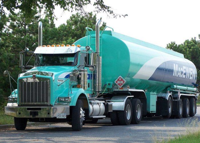 Tractor Trailer Truck - Tanker